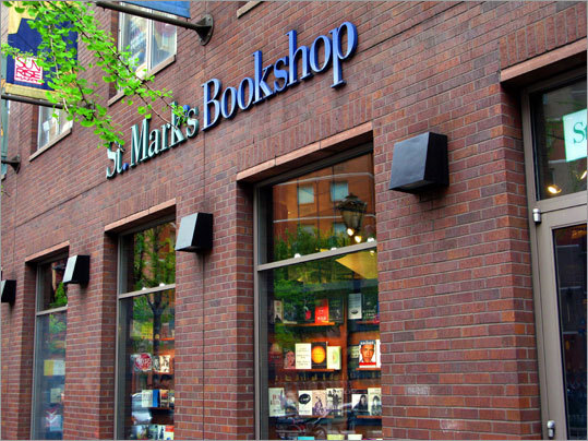 Despite its corporate vibe, St. Mark's Bookshop is filled with subversive and incendiary literature (and a lot of good music).