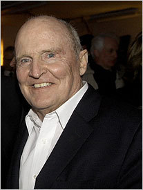 Jack Welch, the former chief executive officer of General Electric.