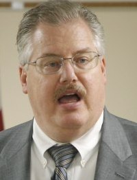 Ken Kratz sent harassing text messages to an abuse victim.