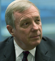 NO DECISION UNTIL AFTER MIDTERMS Senator Richard Durbin expects eventual GOP support for President Obama's tax proposal.