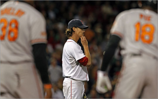 Clay Buchholz, Red Sox Stats: 17-7, 2.33 ERA, 120 K, 1.20 WHIP Buchholz is challenging for the ERA title, which could affect Felix Hernandez's bid for the award. Hernandez is at 2.27 ERA, just ahead of Buchholz in the AL. While Buchholz may not have the wins, innings or strikeouts of some of the other candidates, he's in the conversation with a .226 opponent batting average (seventh in AL) and likely will have one more start in the Red Sox' final series vs. the Yankees.