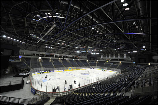The arena where the Bruins will face the Belfast Giants all-stars.