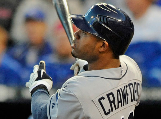 Carl Crawford, left fielder, Tampa Bay Rays 2010 stats: .307/.356/.495/19 HR/90 RBIs Red Sox officials have met in recent days in Houston with Crawford and his representatives in Houston, It's possible the Sox are laying the groundwork for a deal at next week's winter meetings in Orlando. Fun fact: Crawford led the league in triples for the fourth time in his career in 2010. He's an outfielder in his prime who the Rays most likely will not pay to stay in Tampa Bay. He set a career high in RBIs (90), runs (110) and home runs (19). He made his fourth All-Star team and will likely be looking for a huge pay day in free agency. The Angels are expected to be a suitor, but the Red Sox and Yankees are also believed to be interested.