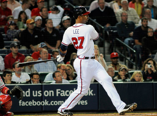 Derrek Lee, first baseman, Atlanta Braves 2010 stats: .260/.347/.428 SLG/19 HR/80 RBIs We probably won't ever see the 2005 version of Lee (.335/.418/.662 SLG/46 home runs/107 RBIs), the one who finished third in the NL MVP voting, ever again. Lee turns 35 next year and is coming off a down year after being traded by the Cubs to the Braves at midseason. With the Braves, he hit .287 with an .849 OPS, slightly below his career average. He's still a good defensive first baseman and just last year hit 35 home runs and had 111 RBIs.