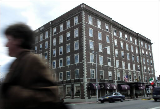 The Hawthorne Hotel has gained a reputation for being haunted. Read the accounts here , and learn about more supposedly haunted hotels and inns in New England.