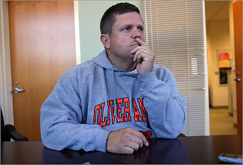 Oliver Ames High School football coach Jim Artz, who coached Henry, said the allegation by police that Henry tried to drive away from the officers runs counter to the teen he knew. 'It doesn't fit,'' he said.