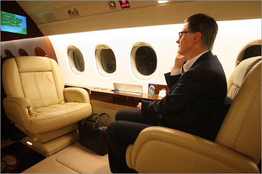 After the business end of the transaction was completed in a London law office, Henry traveled to Liverpool in his private jet.