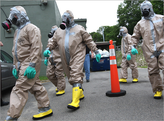 Field epidemiologist Average salary: $63,010 The job: When epidemics like the swine flu or SARS break out, field epidemiologists throw on a Hazmat suit and get to the heart of the wheezing, sneezing, and germs to investigate the disease and how it spreads. Scary to people with: Mysophobia (germs or dirt), hemophobia (blood), trypanophobia (needles), necrophobia (dead bodies), thanatophobia (dying)