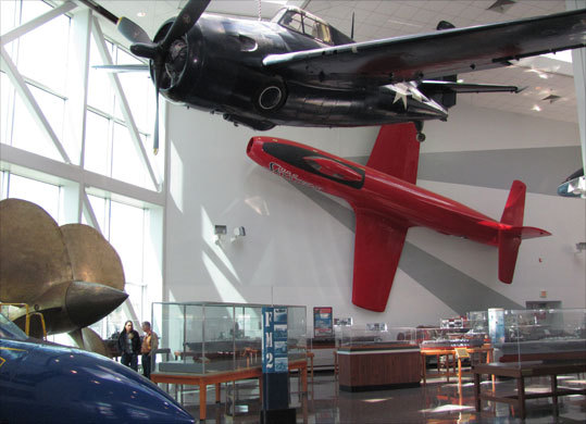 Pensacola's National Museum of Naval Aviation is a 300,000-square-foot wonder with more than 150 restored aircraft and 4,000 artifacts representing the Navy, Marine Corps, and Coast Guard.