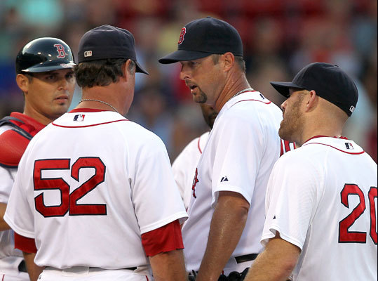Wakefield finished the 2010 season with a record of four wins and 10 losses and a 5.34 ERA in 140 innings. He made 19 starts and had 32 appearances. Wakefield ended the year with 193 career wins. He has 179 wins as a Red Sox, 13 shy of Roger Clemens and Cy Young for the team's all-time record of 192 victories. Clemens holds the Red Sox record of 100 home wins.