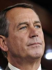 John Boehner offered to meet Obama halfway — sort of.