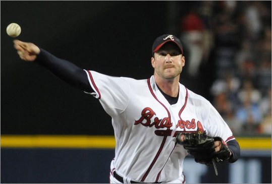 Derek Lowe, RHP, Braves He has two years and $30 million remaining on his deal. For a team that needs a sure thing in the middle of the rotation, Lowe can still bring it. The Braves are looking for offense, a power corner outfield bat.