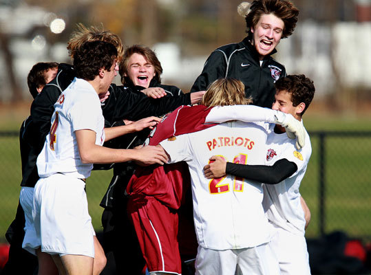 Concord-Carlisle had scored 71 goals in 22 games leading up to the Division 2 state championship game against Nipmuc at Foley Stadium. There was only one player on the roster who had yet to tally a point. Sophomore Stowe Simonton, who was the seventh player coach Ray Pavlik had tried at the central midfield position this year, finally got in on the scoring action, and the timing couldn't have been better leading the Concord-Carlisle to a 2-1 victory. Read: Unlikely hero lifts Concord-Carlisle