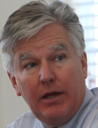Martin Meehan left Congress for UMass in 2007.