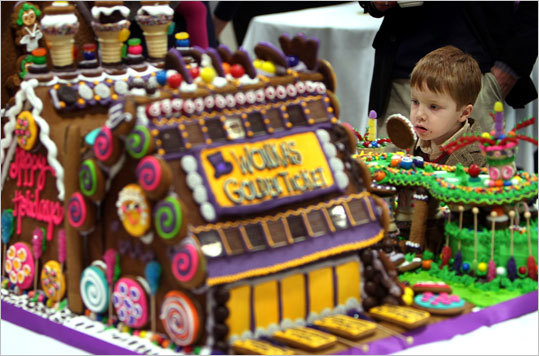 Gingerbread Village , Dec. 4-11, Middlebury, 203-758-9557. More than 60 buildings, with horse and sleigh teams, ponds, boats, and sledders. This year's theme is storybooks. Call for times. Free.