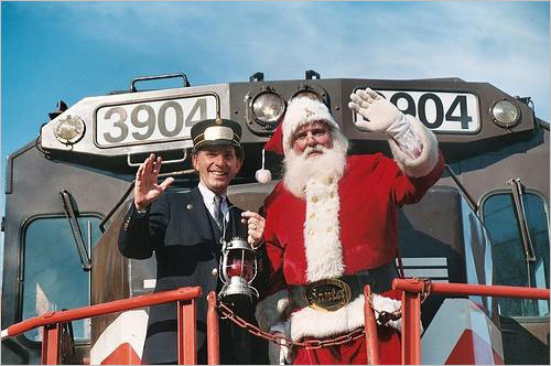 The Blackstone Valley Polar Express , Dec. 4-5, Cumberland, 401-724-2200, www.tourblackstone.com . Santa joins children for the classic story, a singalong, and refreshments on a 90-minute train ride. $34-$38.