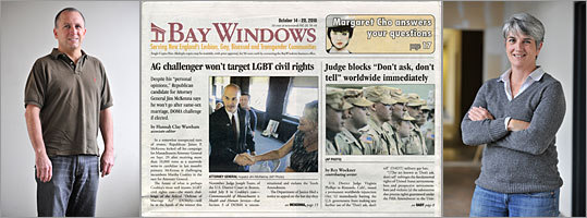 Jeff Coakley and Sue O'Connell are co-owners and editors of Bay Windows, New England's largest gay publication.