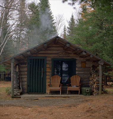 For 120 years, the Libby family has been operating hunting camps near the Oxbow in the Maine North Woods. A guest cabin with a view of Millincocket Lake at Libby Camps. Read more