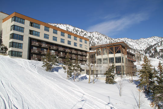 Speaking of easy, check into The Rustler Lodge at Alta, and you're basically done planning. This posh mountain lodge has 85 rooms, and treats skiers (sorry, no snowboarders at Alta) to a full breakfast and gourmet dinner, plus après ski hors d'oeuvres, and the best outdoor heated pool into which I have ever plunged.
