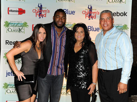 Tiffany and David Ortiz, along with former MLB player Andres Galarraga and his wife, Eneta, attended the Saturday night awards gala after the third annual David Ortiz Celebrity Golf Classic that took place at Cap Cana in the Dominican Republic last weekend. The annual event is a benefit for the David Ortiz Children's Fund, a nonprofit organization committed to providing critical pediatric services to children in New England and the Dominican Republic.
