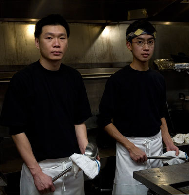 Three new Asian restaurants have given far-away flavors a new sense of place in Maine. In Portland Boda chef-owners, Nattasak Wongsaichua (left) and Danai Sriprasert , nicknamed Dan and Bob, are in the kitchen until last call. Boda is a combination of their nicknames. The partners are from Northern Thailand and came to Portland by way of Seattle. Read more .