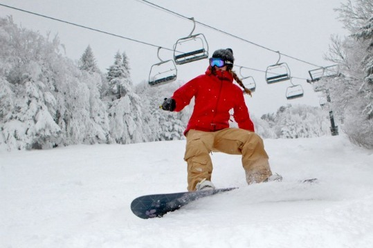 Killington has picked up 20 inches of powder this week, leading to prime conditons at the Vermont resort.