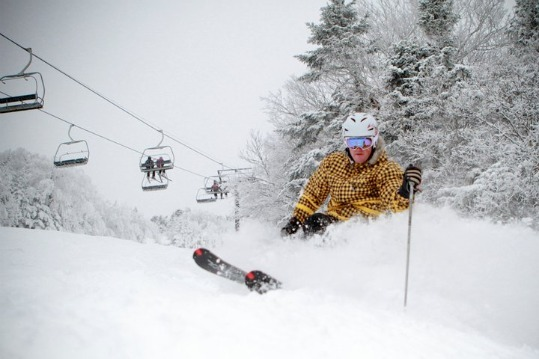 As of Wednesday, Killington was skiing and riding on 35 trails.