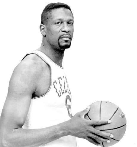 Bill Russell Any time Russell's name is mentioned, the first thing that usually comes to mind (rightfully) is the number of rings he won. Russell's career is so impressive that the fact he won five regular season MVPs is almost secondary to his postseason success. Russell won three straight from 1961 to 1963. His first came in 1958 and last in 1965. In 1965, Russell averaged 14.1 points, 24.1 rebounds, and 5.3 assists per game. The NBA Finals MVP did not exist before 1969, but it's likely Russell would have won a bunch.
