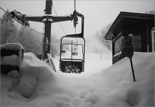 Vermont's Bolton Valley has received over three feet of snow since Sunday, and plans to open Friday with at least 12 trails and three lifts.