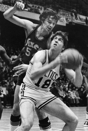 Dave Cowens</h3 Cowens' hard-nosed style earned him the MVP in 1973, averaging 20.5 points and 16.5 rebounds in a year when Boston lost the Eastern Conference Finals in seven games to the New York Knicks. It was Cowens' third year in the league.