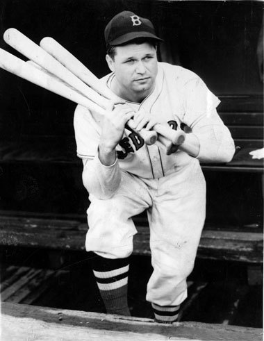 Jimmie Foxx Jimmie Foxx won three MVPs in his career, two with the Athletics and one with the Red Sox in 1938. He had a career high OPS of 1.166 and reached the 50 homer plateau for the second time in his career. He slugged .704 during the regular season which, amazingly enough, was not a career high (.749 in 1932, his first MVP season).