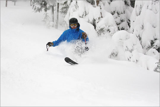As of Wednesday, Sugarloaf had 22 open trails.
