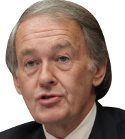 "LINGERING WORRIES Markey remains concerned the package ""contains excessively generous tax breaks for millionaires and billionaires."""