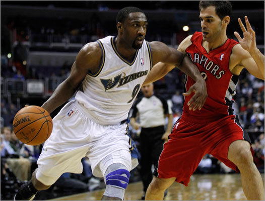 Gilbert Arenas Orlando's biggest acquisition to replace the scoring they lost is Gilbert Arenas. The Wizards had been desperate to move the troubled guard (think about that for a minute), and Arenas gives the Magic scoring punch. Most NBA fans would say Arenas isn't worth the baggage, but Magic GM Otis Smith is taking a chance on him.