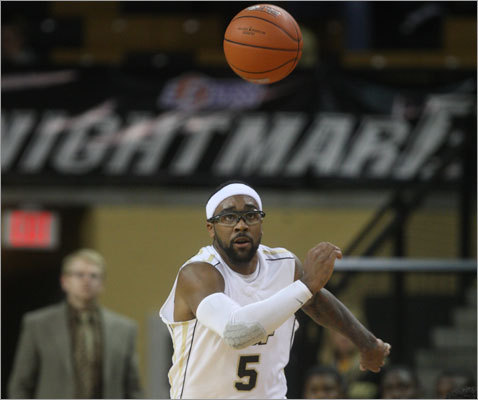 Marcus Jordan, the son of NBA great Michael Jordan, is a 6-3, 205-pound sophomore guard for the University of Central Florida.
