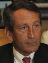 Mark Sanford plans to head toward home in his son's truck.