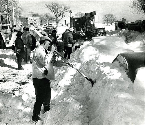 6: January 20-21, 1978 -- 21.4 inches While the snowstorm that hit Boston in January 1978 is usually not remembered as well as the one that dumped 27 inches of snow on the city the next month, it nonetheless caused plenty of headaches.