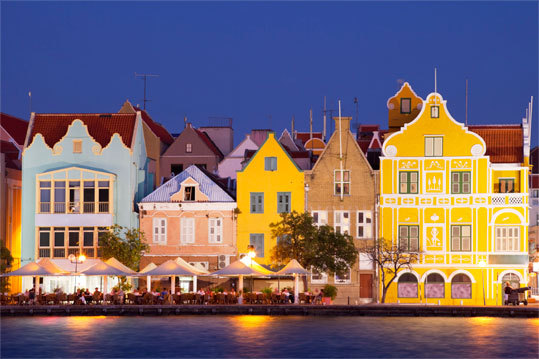 Curaçao is probably best known for its rows of pastel colored buildings that look like they were constructed in Amsterdam and painted in Miami, a stretch that is now designated as a UNESCO World Heritage site.