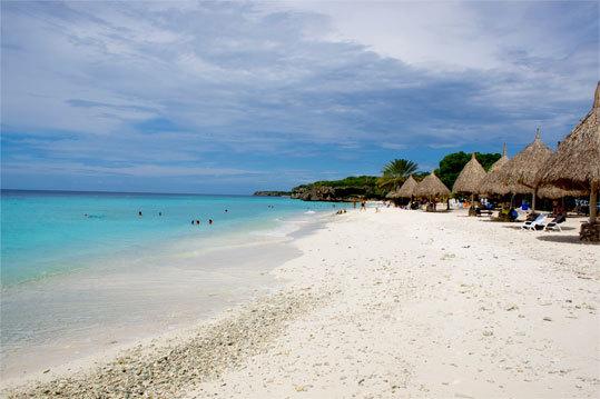 Curaçao's Cas Abao beach.