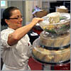To get order right, caterer gets early start