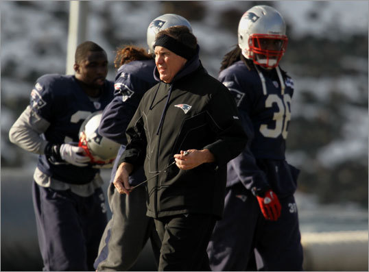 Once the Jets-Patriots divisional playoff matchup was set for January 16, 2011, Ryan immediately ratcheted up the intensity. 'I recognized that this week is about Bill Belichick against Rex Ryan. There is no question. It's personal. It's about him against me and that's what it's going to come down to. When you look at it, both teams are very even. When you look at the players, our teams are solid across the board. If you look at the assistant coaches, we're on level ground. This is going to be about me raising my level against Bill Belichick. I recognize he's the best, but I'm just trying to be the best on Sunday.'