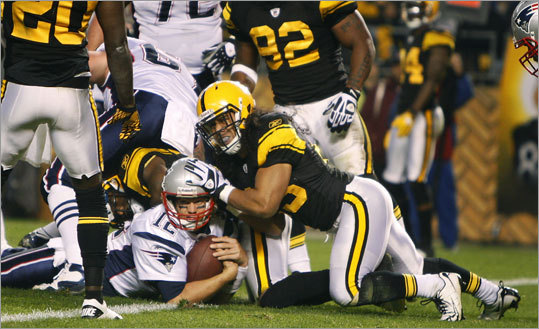 The Patriots have played the Steelers 25 times, including twice for the AFC Championship. Following a November victory in Pittsburgh, Patriots quarterback Tom Brady improved to 6-1 in games vs. the Steelers. Lately, the Patriots have dominated the rivalry, winning five of the last seven, but the Steelers lead the overall series 14-11. That includes a six-win streak by the Steelers from 1989 to 1998. Here's a review of the more recent meetings.