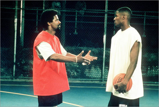 He Got Game Allen extended his fame beyond basketball with the release of the 1998 Spike Lee film 'He Got Game.' Allen starred opposite Denzel Washington (left) and played Jesus Shuttlesworth, a high school basketball player from Coney Island, N.Y. who faced many temptations as he made his decision on which college to play for. It's really not a basketball movie, but the basketball scenes are fantastic and Allen plays the role well. Ironically, the character Allen plays is loosely based on NBA player Stephon Marbury, whom Allen was traded for on draft day.