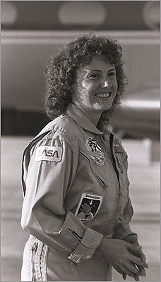 Christa McAuliffe, the Boston-born and Framingham-educated teacher from Concord, N.H. who died on NASA's Challenger in 1986 will be remembered at a space educational event at her namesake school Thursday . McAuliffe, a Framingham State graduate, is gone but not forgotten. Here's a look at some of the ways in which her memory is kept alive. A smiling Christa McAuliffe waited to speak at an astronauts press conference days before the liftoff of the Challenger on Jan. 28, 1986.