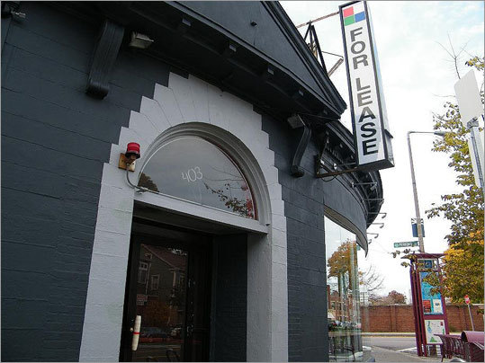 Still vacant, the former Milky Way Lounge, a hot spot near the Hyde Square rotary, shut its bowling-pin-for-a-handle door due to high rents over a year and a half ago. Read more about Hyde Square's redevelopment .