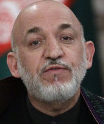 PRESIDENT'S COMPROMISE Karzai rejected the other demand to dissolve a disputed tribunal investigating allegations of election fraud.
