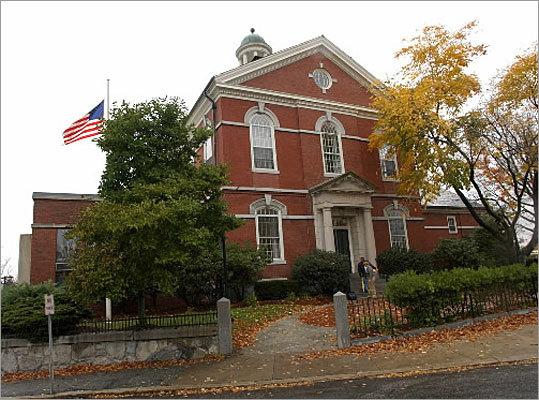 Memorial Hall Library Andover