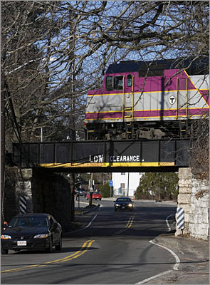 westwood rail bridge East Street Islington commuter rail