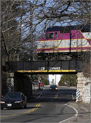 westwood rail bridge East Street Islington commuter rail