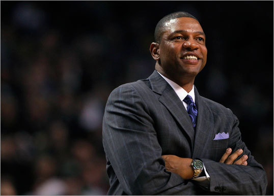 Doc Rivers stayed put The Celtics' great first half has masked just how close the team was to falling apart. Doc Rivers didn't sound like a man who wanted to coach again in the immediate aftermath of Game 7. But Rivers got the blessing of his family and decided to coach another season, likely making the decisions of Ray Allen and Paul Pierce easier as well. Rivers is the perfect coach for this team. He molds big, bold personalities into a functioning team, and he makes it look easy. It's not.